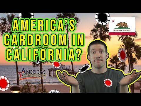 America's card room review | can you play in california?