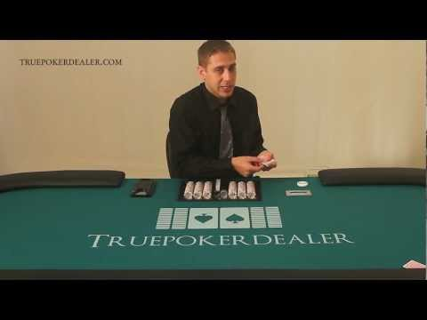 How to deal poker - the poker pitch - mechanics - lesson 3 of 38