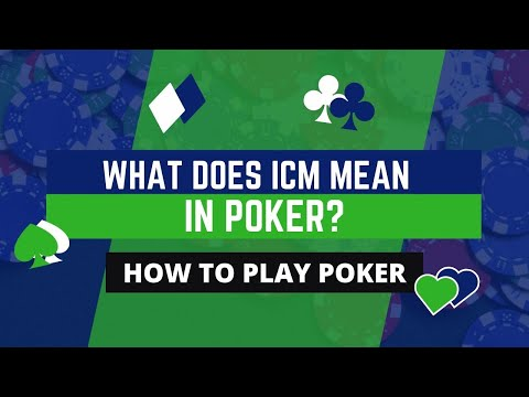 What does icm mean in poker?