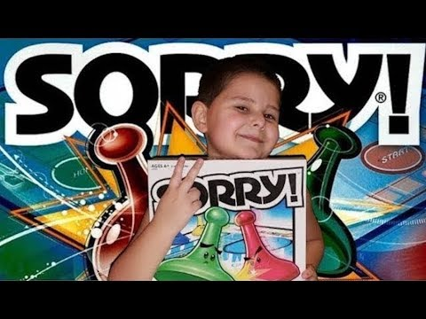 Sorry board game unboxing and reviewing kids game
