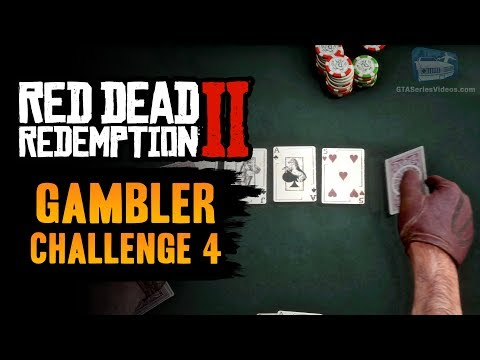Red dead redemption 2 gambler challenge #4 guide - bust one poker opponent out in each location