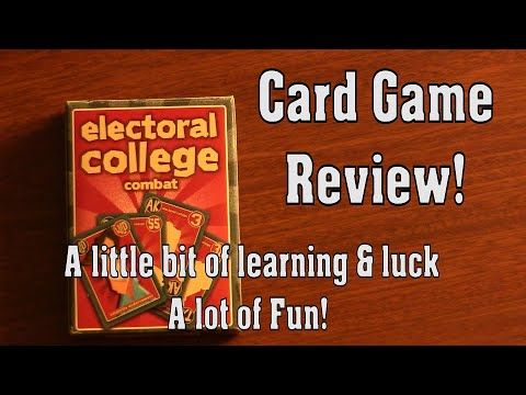 Rule the usa!!! 2-player election card game!
