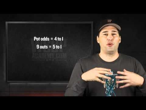 Wsop academy (chapter 3) - lesson 03 - determining pot odds