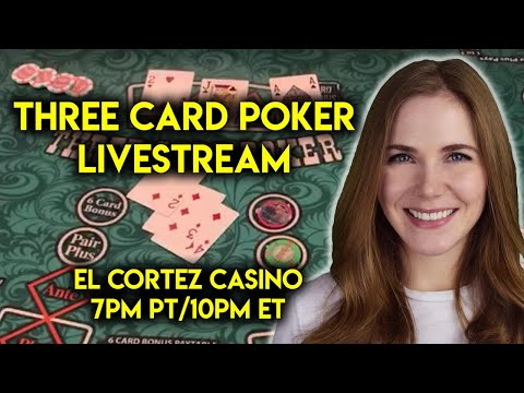 Live: three card poker!! can i get that lucky again??