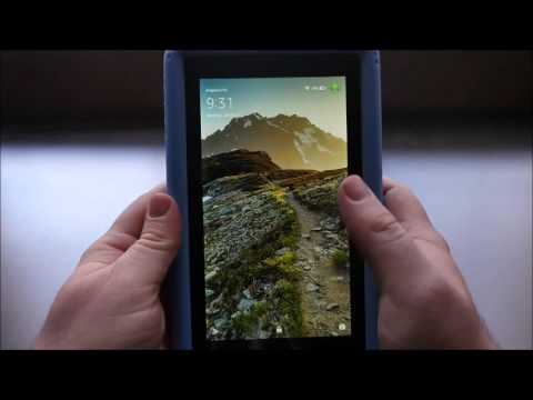 $50 amazon fire tablet how to install google play store google services (easy no pc needed)