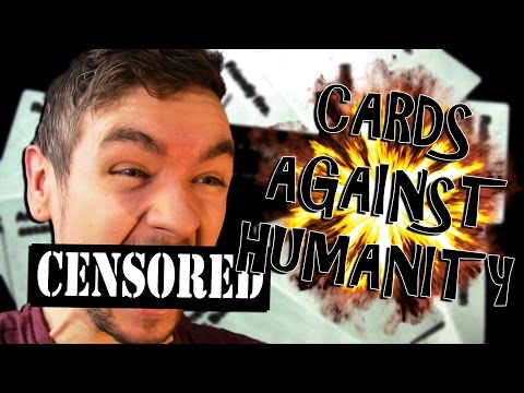 Who's the worst person?   cards against humanity