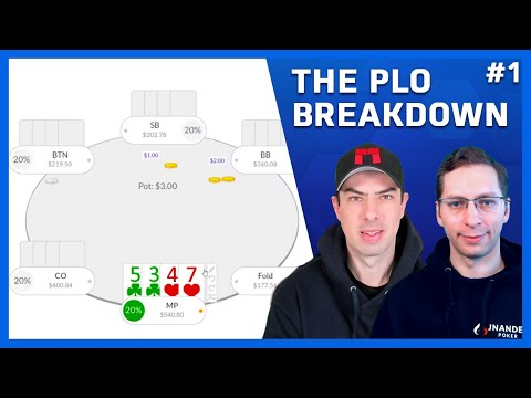 The plo breakdown: how to correctly play double suited rundowns
