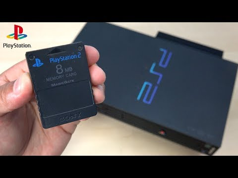 Playstation 2 memory card unboxing!