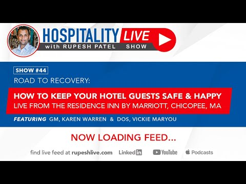 How to keep your hotel guests safe & happy - live from the residence inn by marriott, chicopee, ma