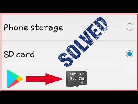 How to save apps & games in sd card (memory card)/save any apps direct in sd card