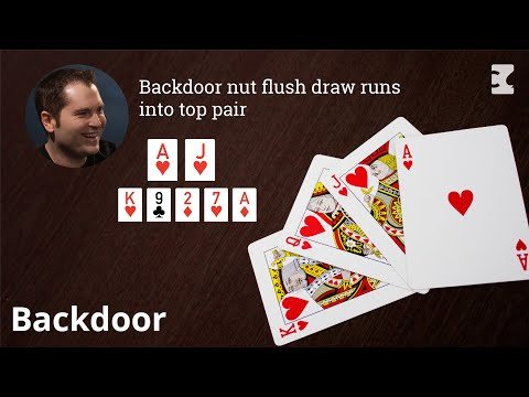 Poker strategy: running into top pair on river