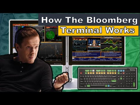 How does the bloomberg terminal work? | how to use a bloomberg terminal for trading
