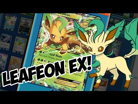 Nature has some stinky breath! leafeon ex! pokemon trading card game online