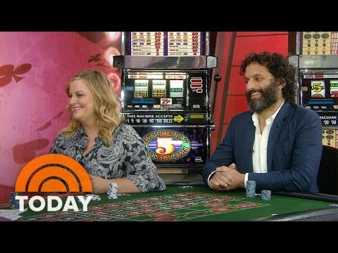 Amy poehler and jason mantzoukas talk about new movie 'the house' | today