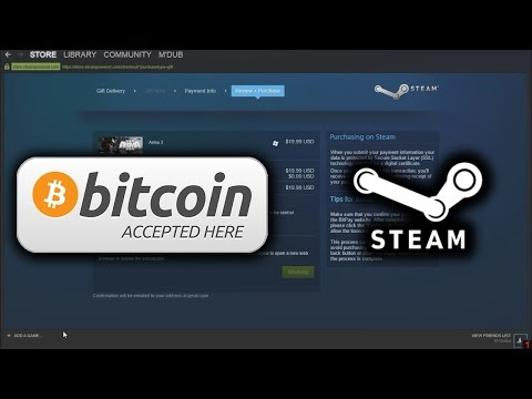 How to buy steam games with bitcoin