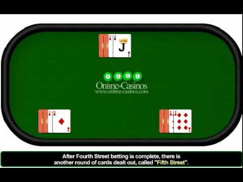 How to play 7 card stud poker - 7 card stud poker rules