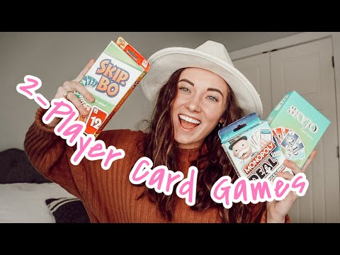 The best 2 player card games! fun date night games