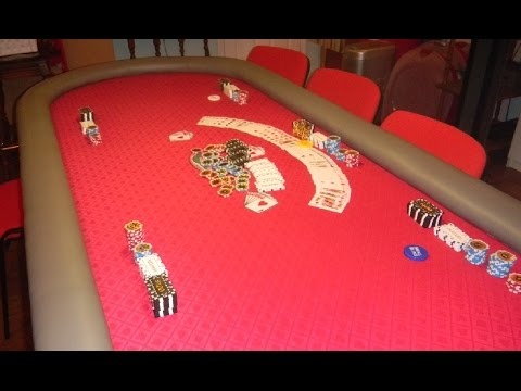 """How to build a """"""""custom deluxe"""""""" 10 player & dealer poker table - \ (•◡•) / - !"""