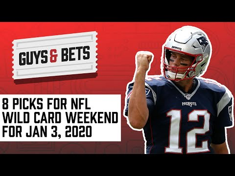 Guys & bets: eight picks for nfl wild card weekend