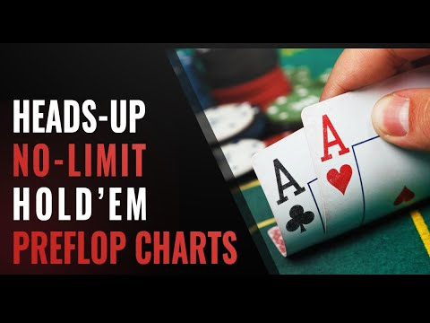 How to play heads-up poker: preflop