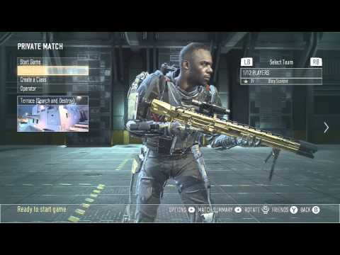 Get bots to setup for you in advanced warfare! (cod aw trickshot tutorial) - obey scarce