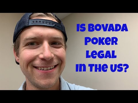 Is bovada poker legal in the us?