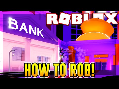 How to rob the new bank and casino in mad city | roblox