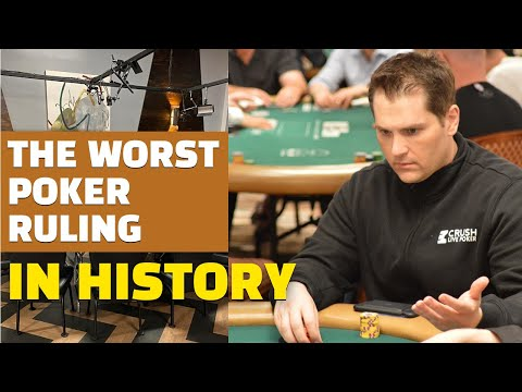 The worst ruling in the history of poker