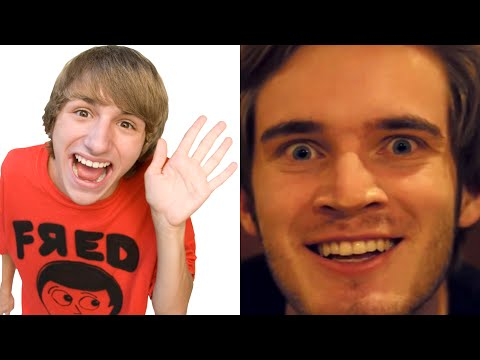 9 most subscribed youtubers of all time (pewdiepie, nigahiga, fred)