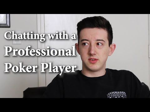 Chatting with a professional poker player