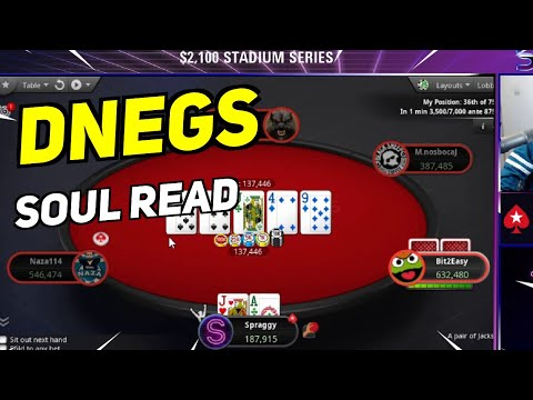 Daily poker highlights: dnegs with the soul read