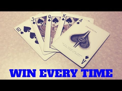 How to win at poker (every single time!)