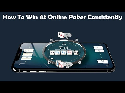 How to win at online poker consistently ♠