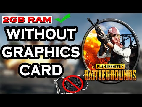 Pubg on any pc   how to play pubg game without graphics card   best settings multiplayer