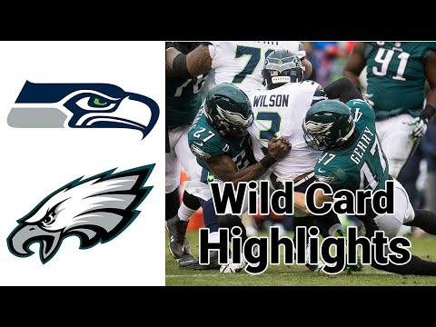 Seahawks vs eagles highlights wild card football full game   nfl playoffs 2020