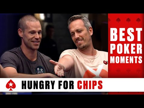 Lex veldhuis vs patrik antonius: ''you know i'm hungry for chips'' ♠️ best poker moments