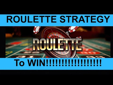Roulette strategy to win !!!! $$$$