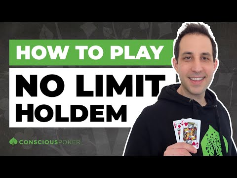 How to play no limit texas hold'em (5 beginner poker strategies)
