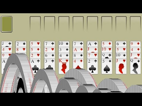 How to play 40 thieves solitaire