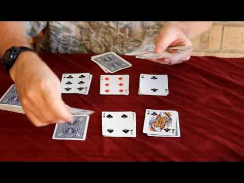 How to play the card game idiot