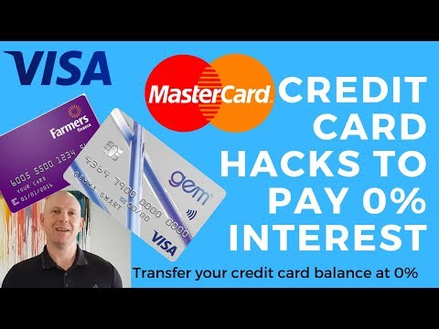 Credit card hacks - how to pay 0% interest on your credit card