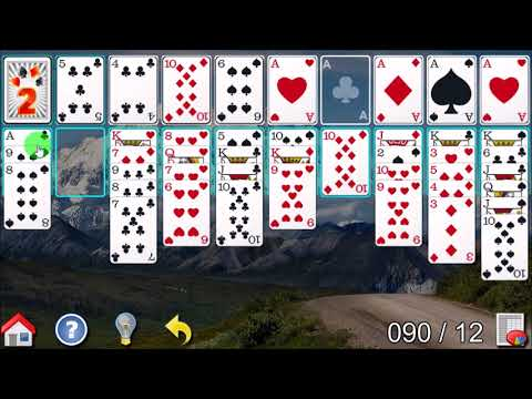 How to play 40 thieves solitaire game
