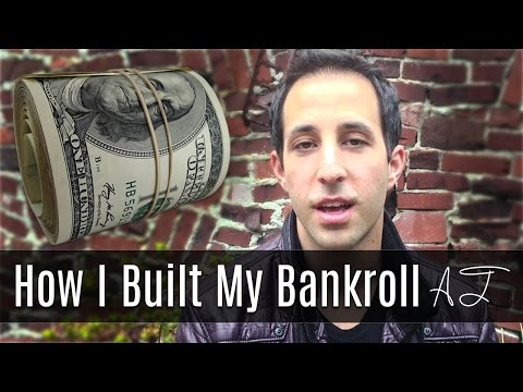 """How did you build your bankroll? (ask alec - my """"pro"""" story)"""