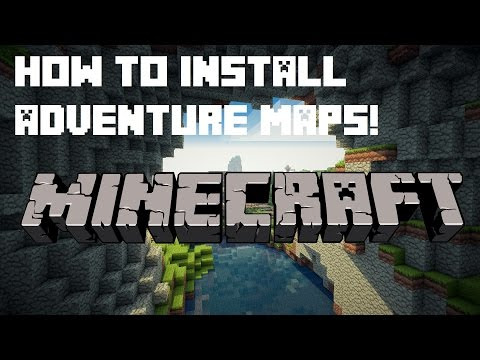 Minecraft 1.12: how to quickly install adventure maps! windows.