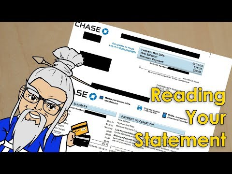 How to understand your credit card statement