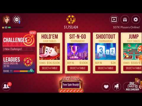How to earn free chips in zynga poker.. its easy and fun