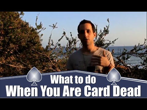 What to do when you're card dead in poker! [ask alec]