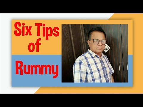 Six tips of rummy game | improve your game
