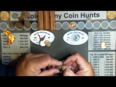 Mom and pop penny hunt live