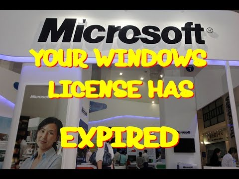See what happens when you get a call of windows license expired